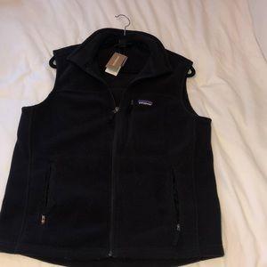Men's Medium Black Patagonia Vest